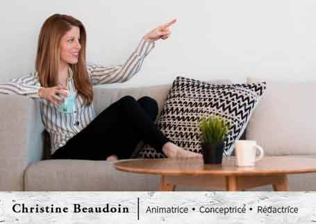 Christine Beaudoin - Animatrice