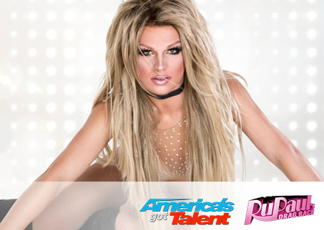 International Britney Spears impersonator, Derrick Barry
