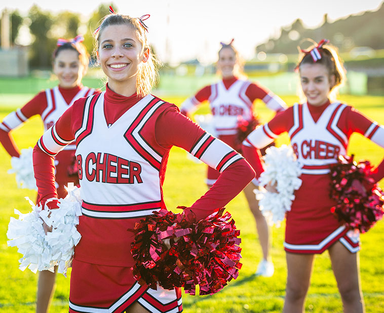 Web Design cheerleading introduction
